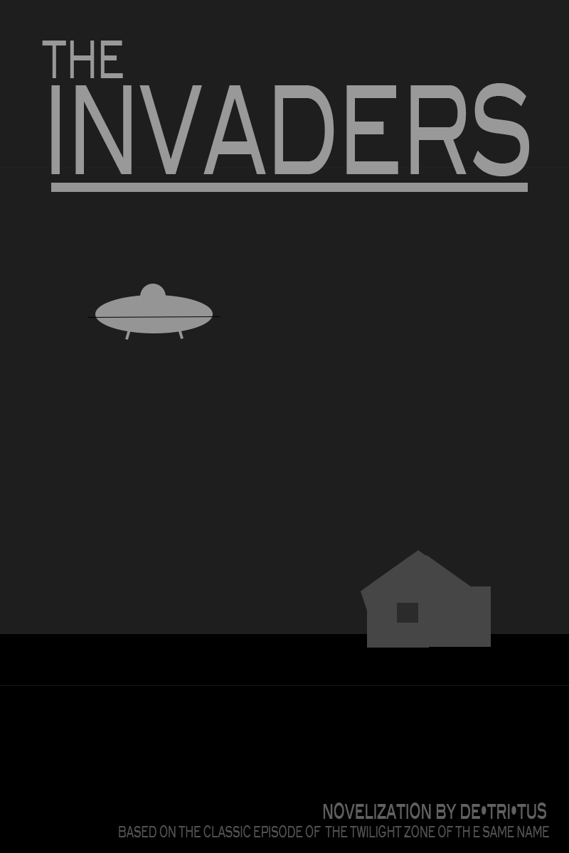 "How To Make A Book Cover For Episode : Minimalist book cover for ""the invaders de tri tus"