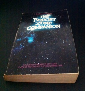 "My copy of ""The Twilight Zone Companion, 1982 edition.""  circa 1982."