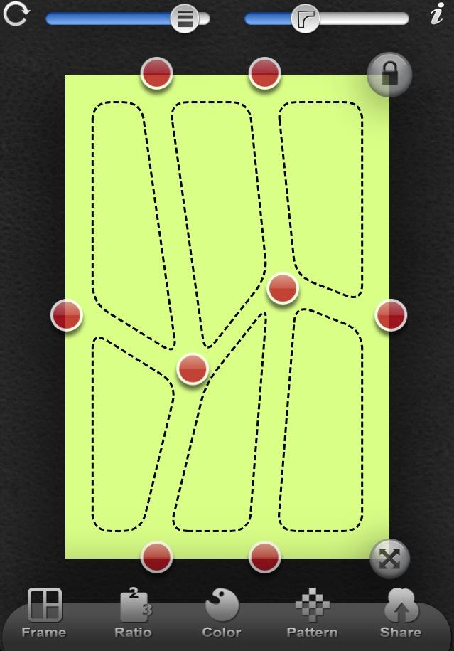 Poly Frame app