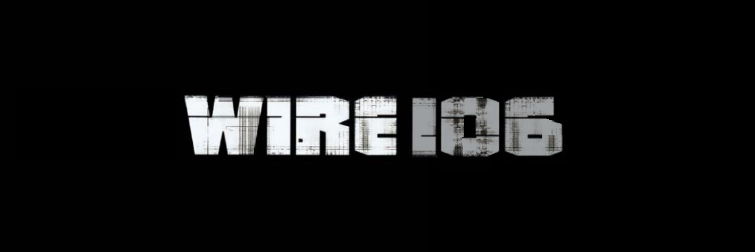 """WIRE106 logo"" by @aforgrave"